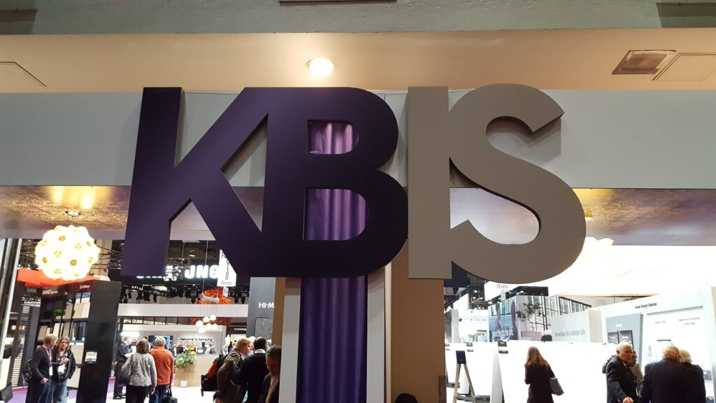 Kbis entry sign